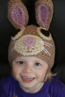 Darla's Easter Bunny Hat