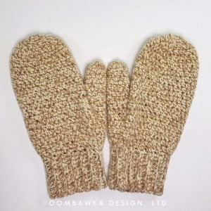 Daddy's Simply Easy Mittens – Free Crochet Pattern