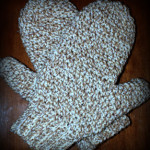 Daddy's Simply Easy Mittens - Free Crochet Pattern