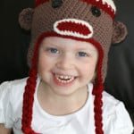 Not ANOTHER Sock Monkey Hat! Toddler Size