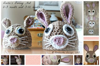 Easter Bunny Hat Free Pattern