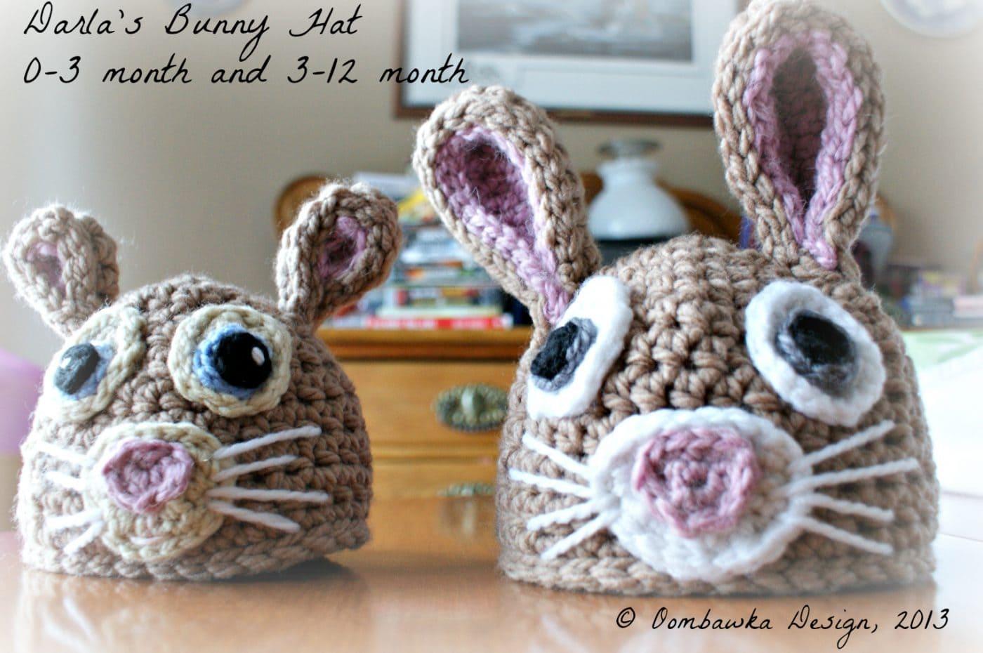 Crochet Bunny Hat Pattern Interesting Decorating