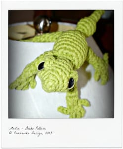 Merlin the Gecko Pattern. Oombawka Design Crochet