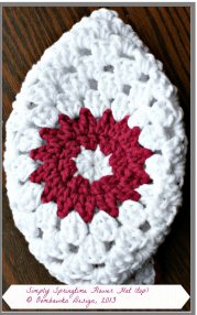 top of simply springtime hat