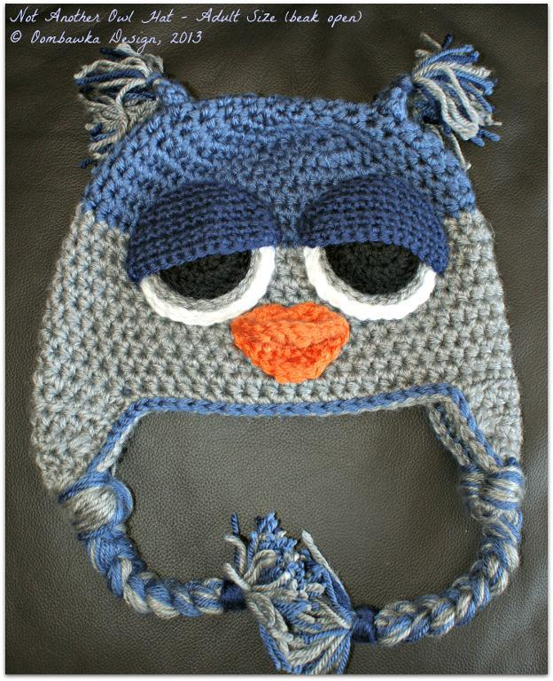 Not Another Owl Hat Pattern