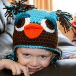 Not Another Owl Hat Version 1. Oombawka Design Crochet.