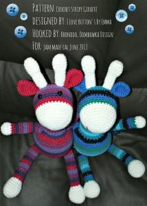 "My Crochet ""Bucket List"" Giraffy Project"