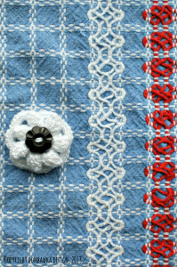 Little Flower Brooch Crochet Bucket List Project as seen oombawkadesigncrochet.com