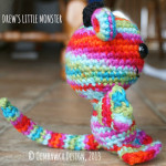 Drew's Little Monster – PDF Pattern – Now available on Etsy