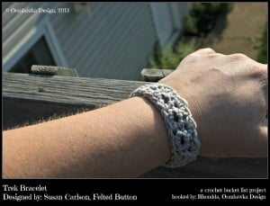 Trek Bracelet - Crochet Bucket List Project - oombawkadesigncrochet.com