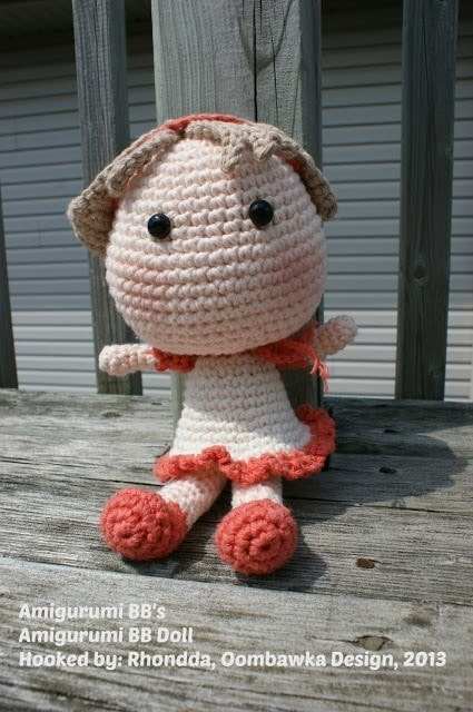 amigurumi bb doll