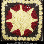 African Sun Square – A Jam Made CAL and Crochet Bucket List Project