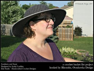 Southern and Sassy Hat Pattern. Oombawka Design.