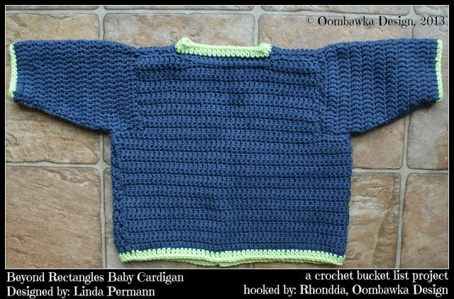 Baby Cardigan - oombawkadesigncrochet.com