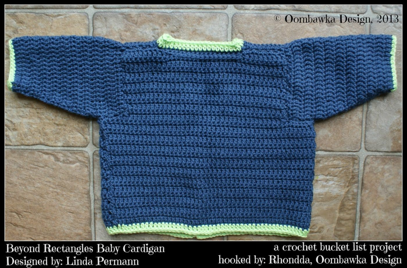2d384247c5c3 A Crochet Bucket List Project - Beyond Rectangles Baby Cardigan ...