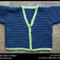 A Crochet Bucket List Project – Beyond Rectangles Baby Cardigan