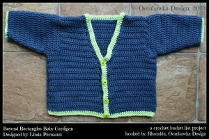 A Crochet Bucket List Project – Beyond Rectangles Baby Cardigan