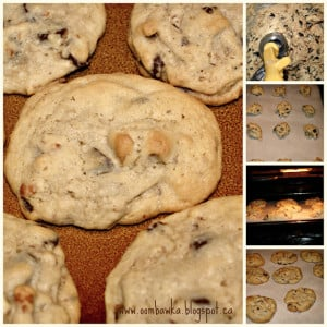 Chocolate Chip Pretzel Cookies Oombawka Design