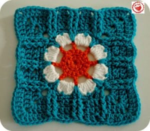 Blooming 76 (8″ square) – Pattern Test