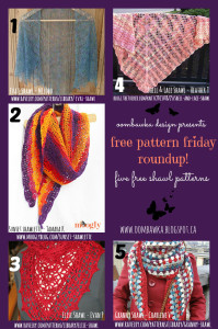 5 Free Patterns for Crochet Shawls