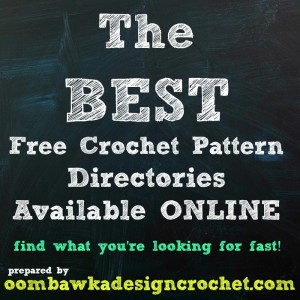 The BEST Free Crochet Pattern Directories Online