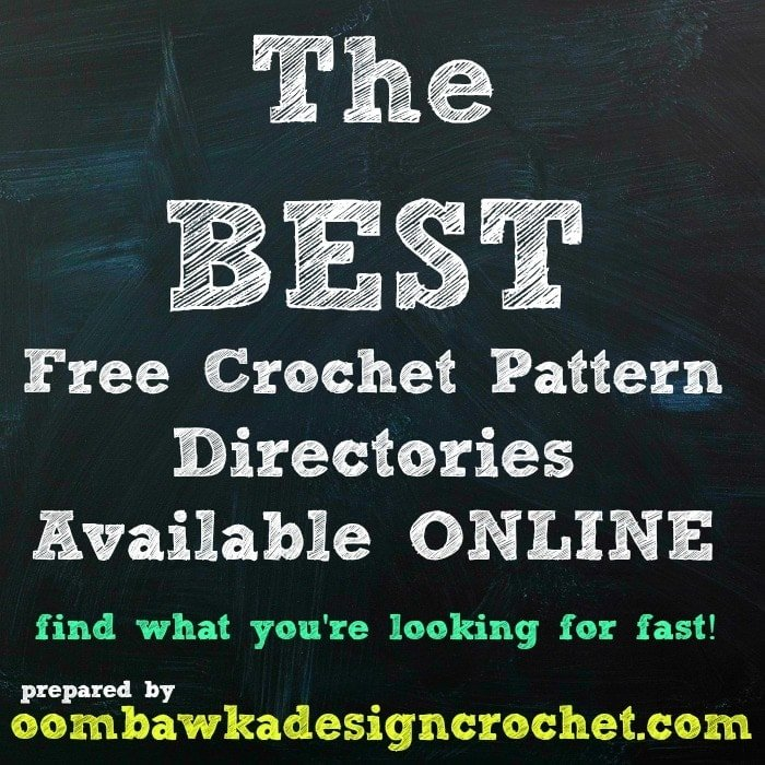 Best Free Crochet Patterns Online : The BEST Free Crochet Pattern Directories Available Online ...
