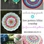 Crochet Mandalas – Free Pattern Friday Round Up!