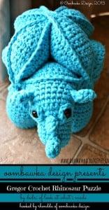 A Crochet Bucket List Project – Amamani – Gregor Crochet Rhinosaur Puzzle
