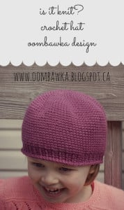 Is it Knit? 2 New Crochet Hat Patterns
