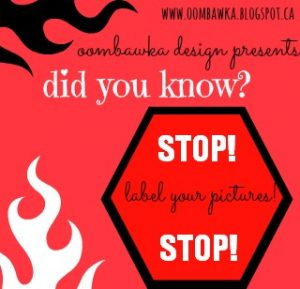 Label Your Images. ALT Tags and Titles. Blogging Tips. Oombawka Design Crochet.