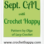 September CAL with Crochet Happy – Featuring the Spider Stitch Shawl by Lacy Crochet!