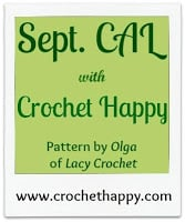 September CAL with Crochet Happy