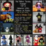 Paid Pattern Tuesday Roundup! Hallowe'en Witch Crochet Amigurumi Patterns