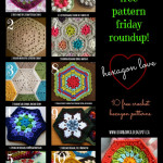 Free Pattern Friday Roundup! Hexagon Crochet Pattern Love!