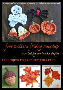 Free Fall Embellishments you can Crochet!