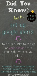 Did You Know? How to Set Up Google Alerts for Your Blog