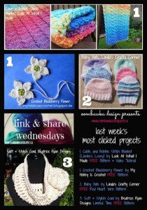 Link & Share Wednesdays! so…what's on your hook? Party 7