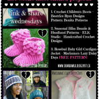 Link & Share Wednesdays! so…what's on your hook? (Week 8)