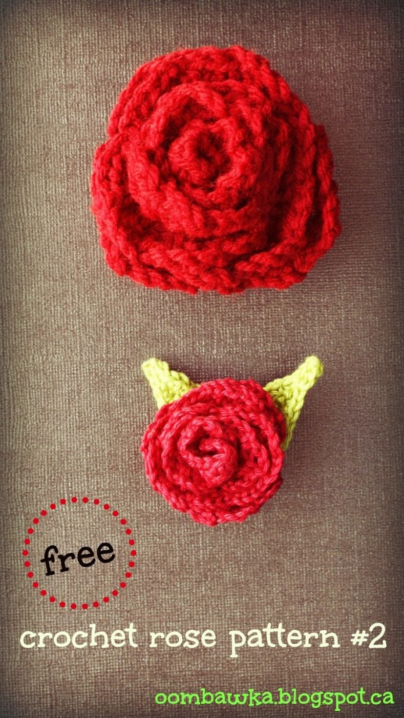 Crochet Rose Pattern : free+crochet+rose+pattern+large+and+small+roses1.jpg