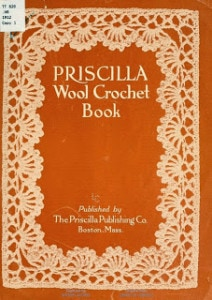Vintage Crochet Books in the Public Domain