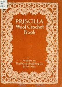 Priscilla Wool Crochet Book. Oombawka Design Crochet.