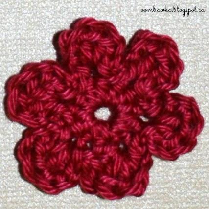Beginner Crochet Flower Embellishment Pattern Oombawka Design Crochet