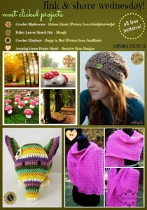Featured: Fallen Leaves Slouch Hat Pattern. Moogly. Oombawka Design Crochet.