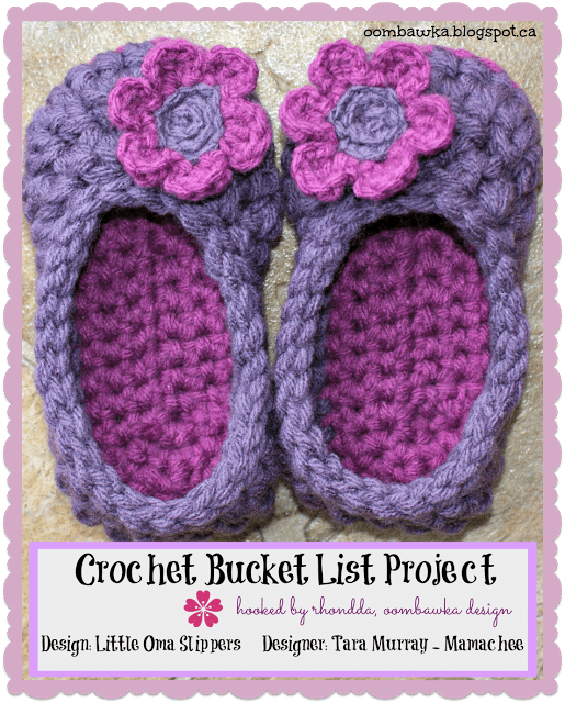 oombawka design cbl project little oma slippers For Darla by tara murray