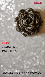 Free Flower Embellishment Crochet Pattern