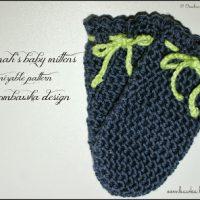 Savannah's Baby Mittens – Free Crochet Pattern