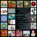 A Roundup of Free Crochet Christmas Ornament Patterns