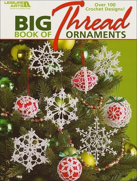 Free Thread Crochet Christmas Ornaments Patterns : 20 Free Crochet Christmas Ornament Patterns