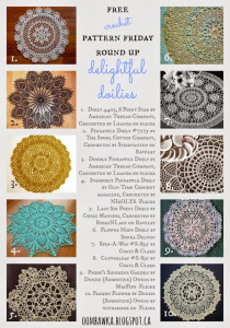 Delightful Doilies! Free Pattern Friday Round Up.