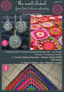 Featured: Crochet Granny Squares. Free Patterns. Helena H. Oombawka Design Crochet.